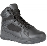 Black tactical boot