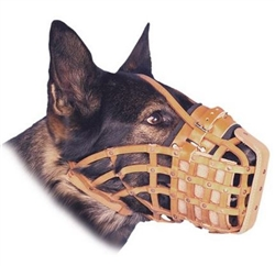 German Leather Dog Muzzles Canada