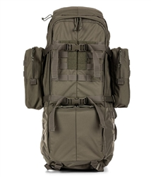 The heavy-duty construction allows the hydration-compatible the 5.11 Tactical RUSH 100 to thrive in hostile environments, yet its modularity is the ideal response to fast-changing situations. Ships from Canada