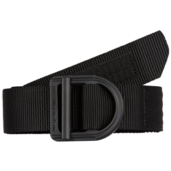 "The consistent choice of law enforcement professionals, 5.11 tactical 1.5"" Trainer Belt is built from ultra-strong nylon mesh and features a solid stainless steel belt buckle with a 6,000 lb. rating."