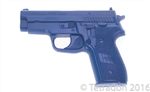 Blue gun Sig P229 Firearm Simulator