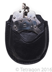 Strong leather handcuff case Canada