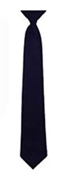 Clip On Tie Dark Navy