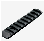 MVG - MOE Polymer Rail Section, 9 Slots