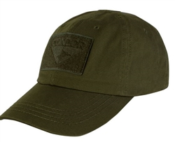 ​The Condor tactical cap has three hook and loop panels for patches, including one on the front (We like to put our favourite Canadien flag patch) one on the top for your head for a IR patch and one on the back for your name tag.